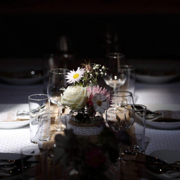 Hochzeitsfoto, Deko